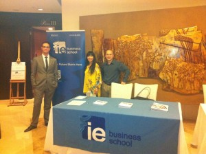 Prof Gomez with IE China Office in Shanghai