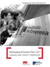 IE International Careers Fair 2007