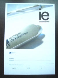 IE Application Form