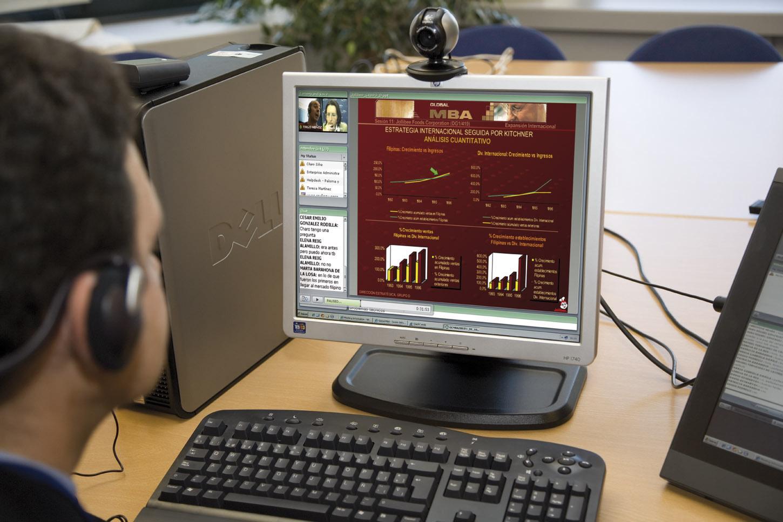 Prof. Nestor Miranda teaching online